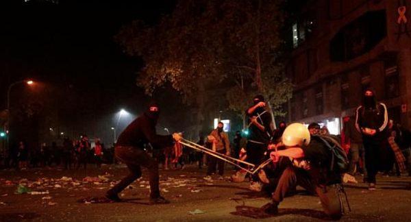 Ταραχές στην Καταλονία – 182 τραυματίες