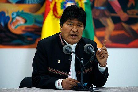 Πραξικόπημα στη Βολιβια. Παραιτήθηκε ο Μοράλες μετά την παρέμβαση του στρατού