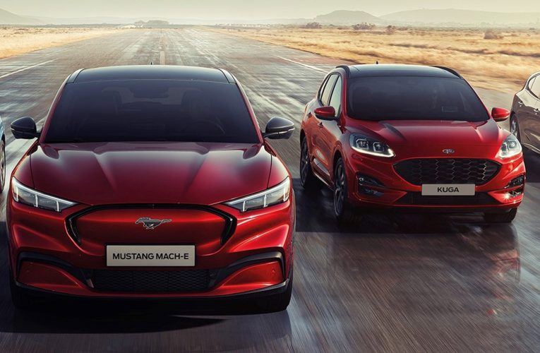 Mobility 2021: Ford Mustang Mach-E & Kuga PHEV